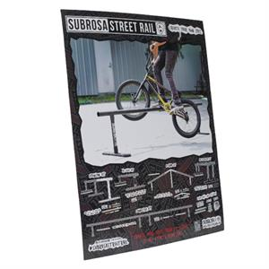 Subrosa Streetrail display sign