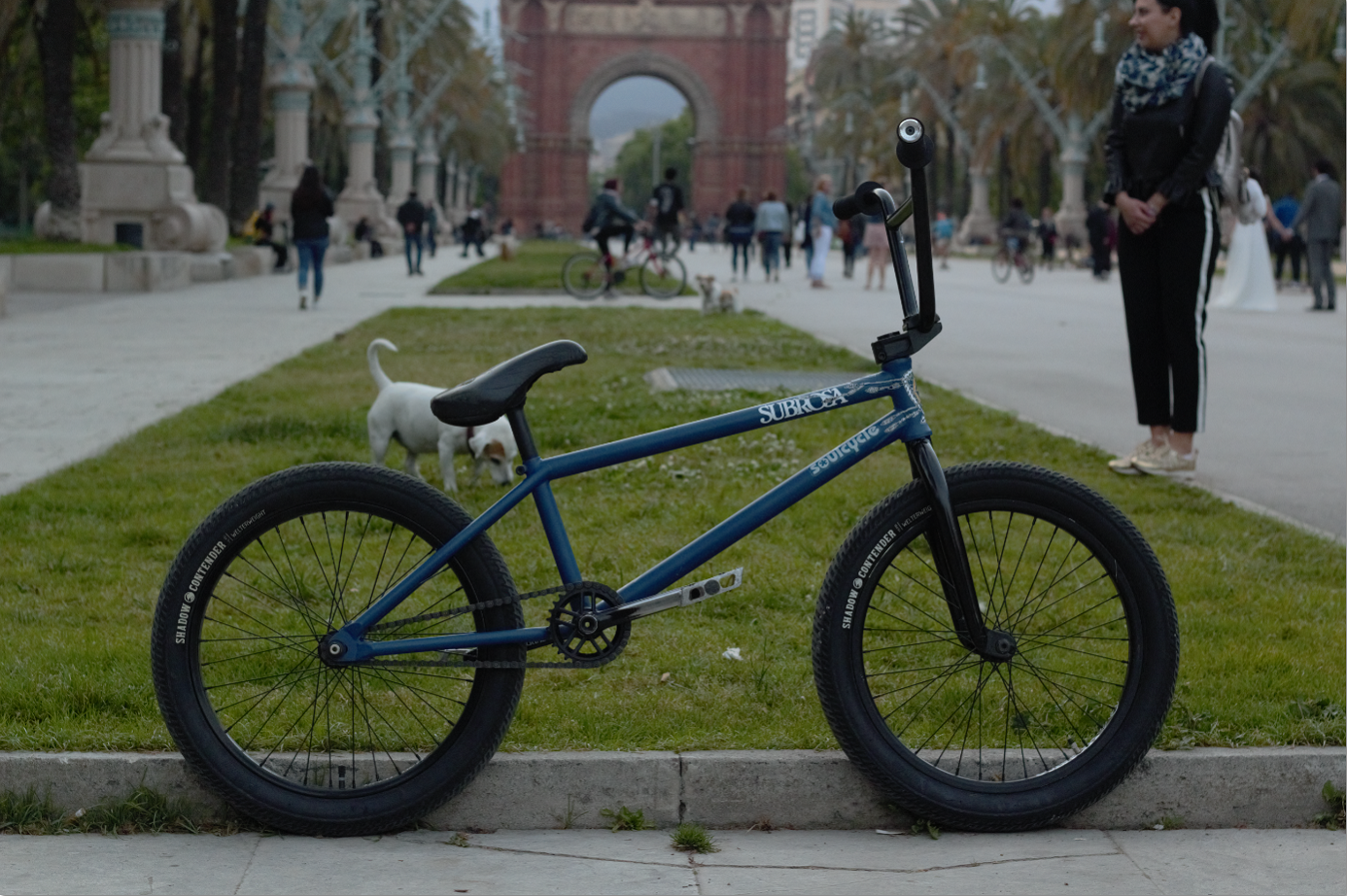 Rock N Roll BMX : BIKE CHECK - EMILE BOUWMAN - SHADOW & SUBROSA